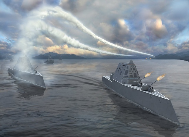 The U.S. Navy has awarded General Dynamics Bath Iron Works $212 million for the design and construction of a steel deckhouse and hangar and construction of aft Peripheral Vertical Launching System (PVLS) modules for integration into Lyndon B Johnson (DDG 1002), the third ship of the U.S. Navy's Zumwalt-class of guided missile destroyers. General Dynamics Bath Iron Works is a business unit of General Dynamics.