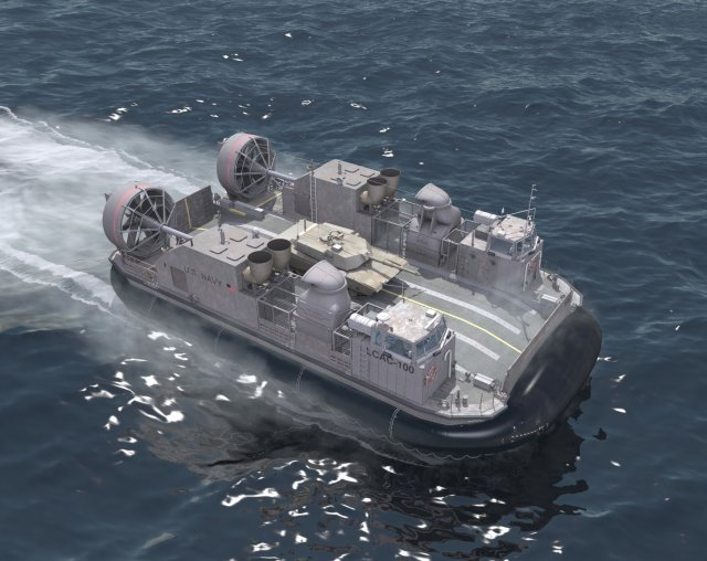 During Sea-Air-Space 2015, Textron Systems Marine & Land Systems announced it has been awarded a $84,087,095 contract option from the U.S. Navy Naval Sea Systems Command for two next-generation Landing Craft, Air Cushion (LCAC) vehicles and associated technical manuals as part of the Ship-to-Shore Connector (SSC) program. Marine & Land Systems will assemble crafts 102 and 103 at its New Orleans Shipyard. Deliveries are expected in the fourth quarter of 2019.