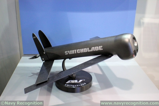 AeroVironment Showcasing its Multi-Pack Launcher for Blackwing & Switchblade UAV