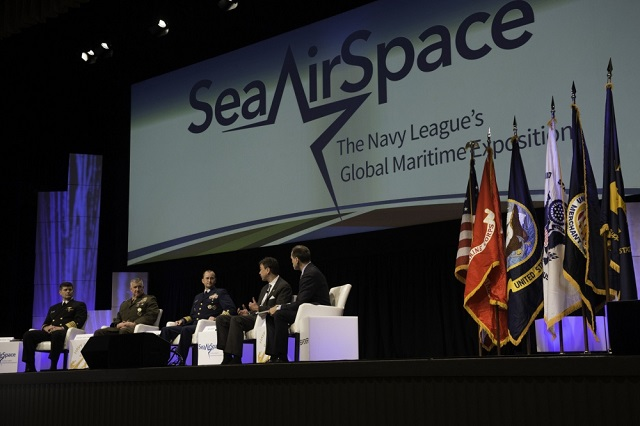 Sea-Air-Space 2017 Expo Concludes with Call to Innovate