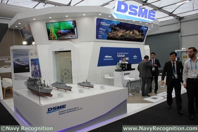 DSME (Daewoo Shipbuilding and Marine Engineering), celebrates its partnership with BAE Systems Australia Limited, BMT Defence Services Ltd, L-3 Communications and SAAB with a Memorandum of Understanding (MoU) signing ceremony at the Pacific 2015 International Maritime Exposition in Sydney. The signing took place on Tuesday 6th October at the DSME stand.