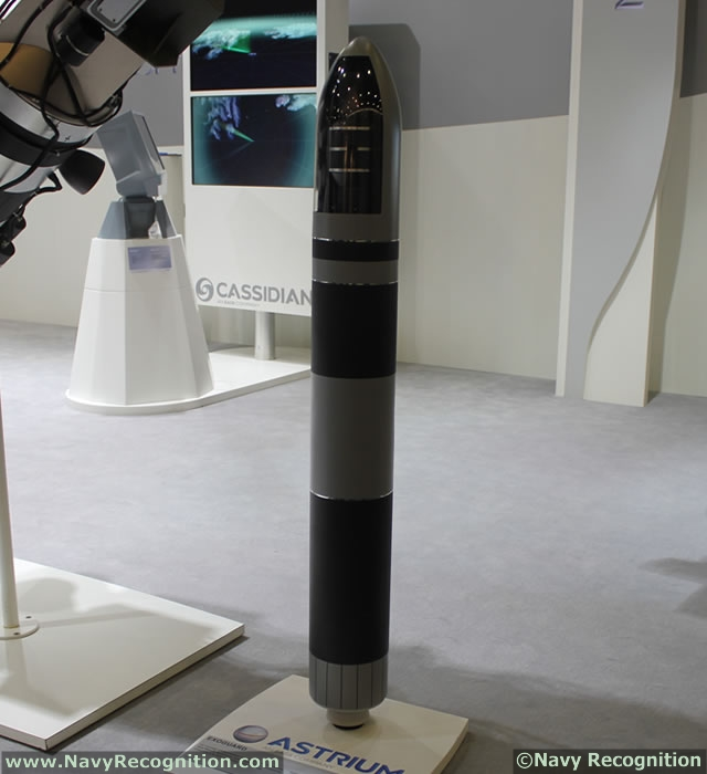 Exoguard at Euronaval 2012: Astrium's concept for upper-tier Ballistic Missile Defence