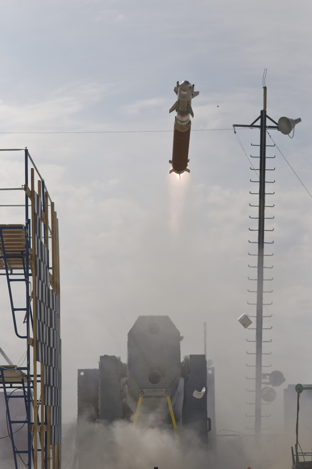 PARIS, (Oct. 22, 2012) — Raytheon Company's Rolling Airframe Missile Block 2 successfully completed its third guided test vehicle flight, further demonstrating the system's upgraded kinematic performance, guidance system and airframe capabilities. The test also verified the use of RAM production-representative hardware.