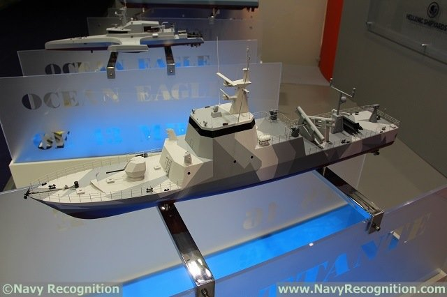 CMN unveals its Combattante FS 46 Fast Attack Craft at EURONAVAL 2014