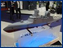 On the occasion of the exhibition EURONAVAL 2014 which starts tomorrow near Paris, CMN will unveil an innovative concept: the C SWORD 90 stealth corvette. This is the biggest warship ever designed by CMN. The C Sword 90 Corvette adopts an innovative hull and superstructure design with sloped surface.