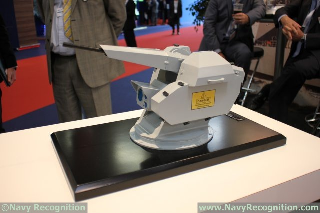 MSI-Defence System reveals its new SEAHWK UL (Ultra-Lite) remote weapon platform