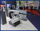 Rheinmetall Defence exhibits its 20mm Remote Controlled Gun Station Oerlikon Searanger 20
