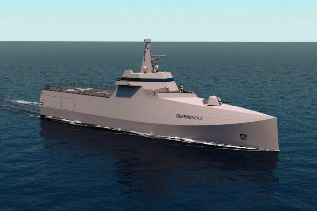 STX France unveils a new corvette concept on the occasion of Euronaval 2014