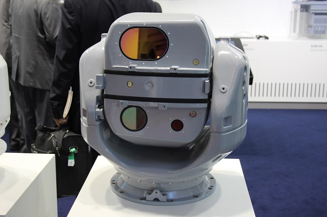 Safran Electronics Defense unveils its new PASEO XLR at Euronaval 2016
