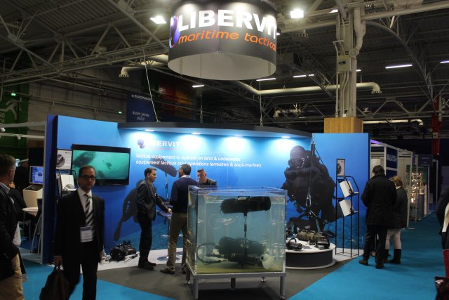 The French company Libervit showcases its underwater hydraulic cutter solutions at Euronaval 2016