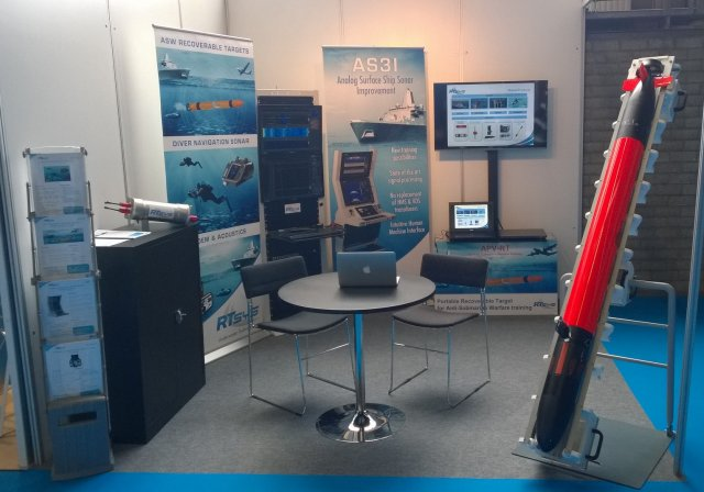 At UDT 2015 RTsys Presents Underwater Portable Target for ASW Training