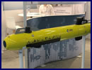 At the UDT 2015 Undersea Defence Technology exhibition and conference currently taking place in the maritime city of Rotterdam, Netherlands, ECA Group of France is showcasing its A9 autonomous underwater vehicle (AUV). The ECA Group has a full range of AUVs, spanning from the most compact A9 (on display at UDT 2015) to the largest versions of A27 and ALISTAR3000. They all share the same IT architecture, autonomous software and supervision interface.