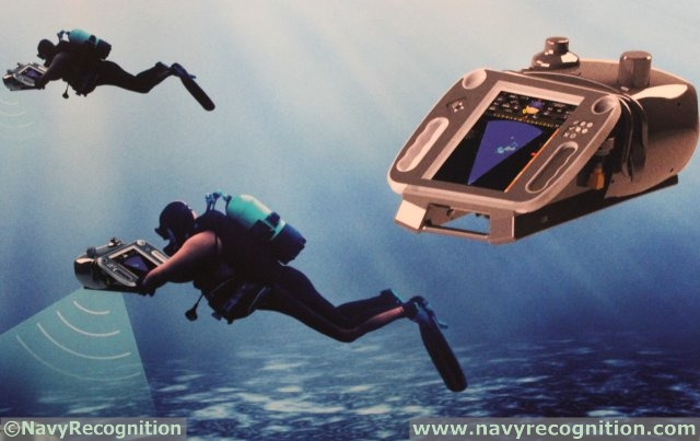 RTSys unveils for the first time its DA-SDA14 Sonar and Navigation System for Divers during UDT 2015