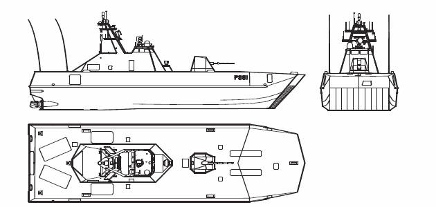 Designed and built by Umoe Mandal, the Skjold class corvette is engineered for littoral combat and surface operations in coastal waters. While light in displacement (274 tonnes) the Skjold class are armed like a frigate ship, present many stealth features and are capable of high transit speeds. While they should be classed as Patrol Boats, the Royal Norwegian Navy officially label them as coastal corvettes.