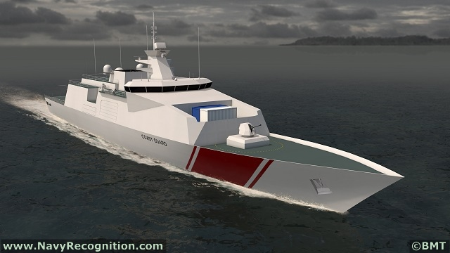 Modern Ship Design : Bmt launched venator multi mission reconfigurable