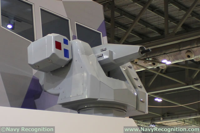 At DSEI 2015, the International Defence & Security event in London, United Kingdom British company MSI-Defence Systems Ltd, one of the world leader in the supply of small/medium calibre Naval Gun Systems, was showing for the first time a full size model of its new SEAHAWK Ultra-Lite (UL). The SEAHAWK UL was first unveiled during Euronaval 2014.